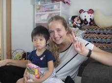 Kanon-chan with Kayo-san and family